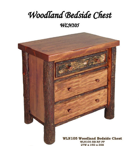 Woodlands Bedside Chest by Old Hickory