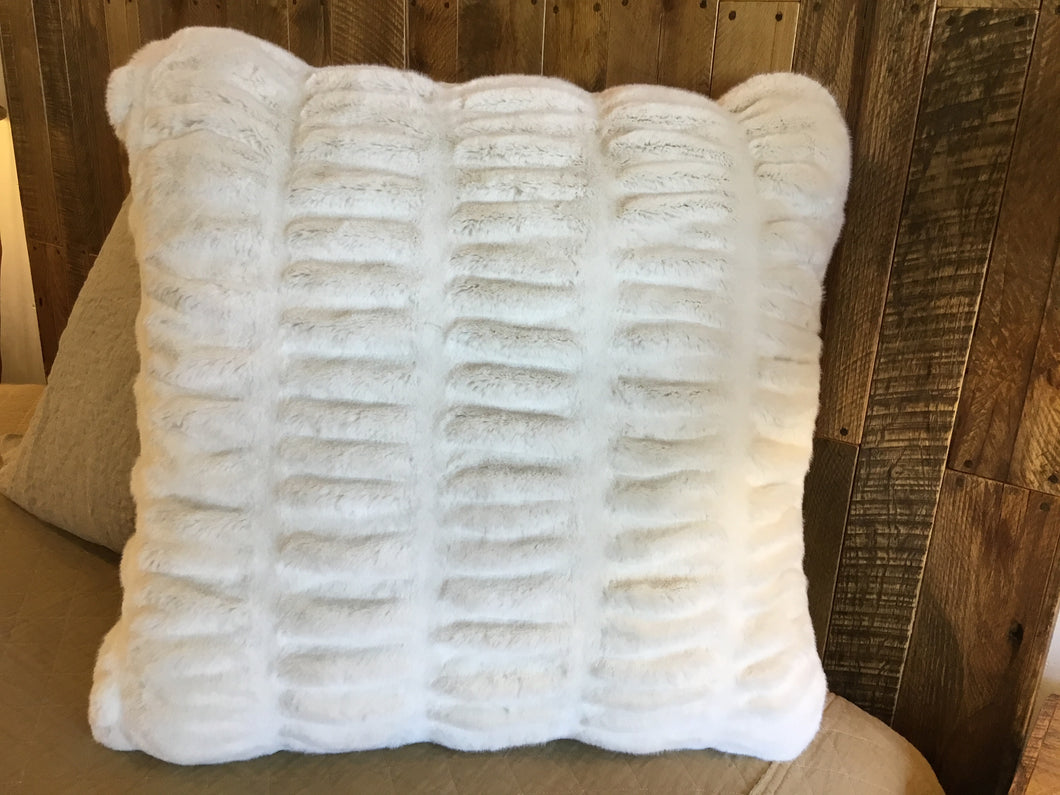 "Fabulous Furs Couture 24"" Pillow"