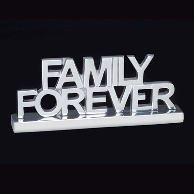 Family Forever Decorative Sign