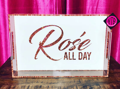14 x 22 Rose all Day Tray