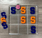 College Personalized Tic Tac Toe Game