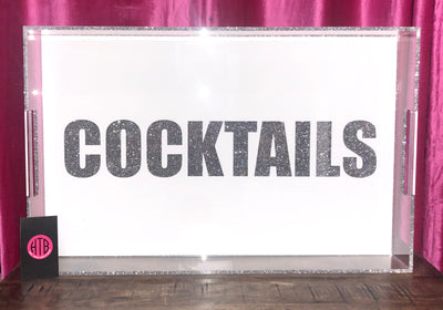 14 x 22 COCKTAILS Tray
