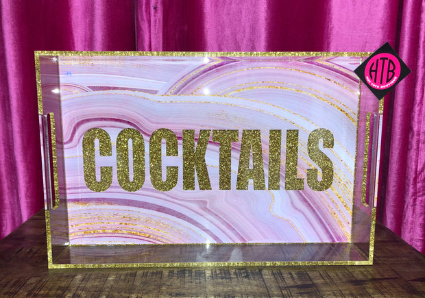 11 x 17 COCKTAILS Tray