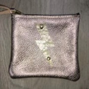 Ginger Leather Pouch