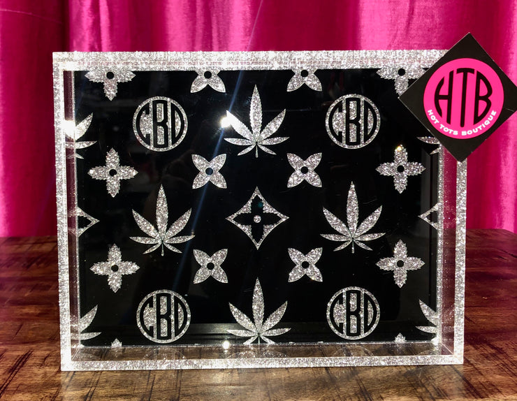 Small CBD/LV Tray Black