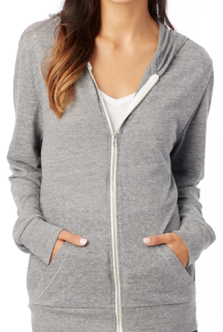 Zip Up Lightweight Hoodie
