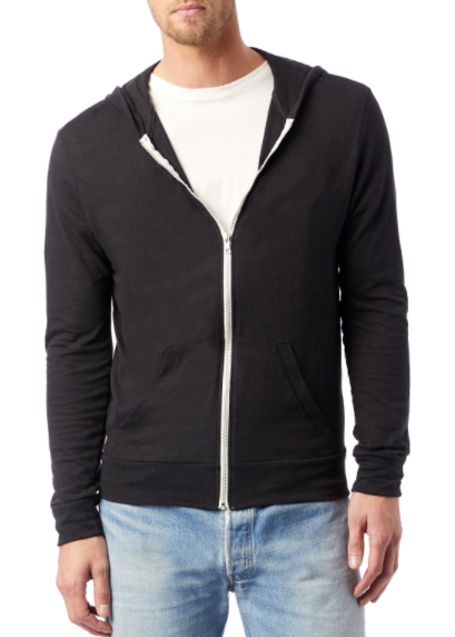 Zip Up Lightweight Hoodie (Unisex)