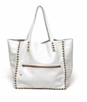 Miley Leather Tote Bag