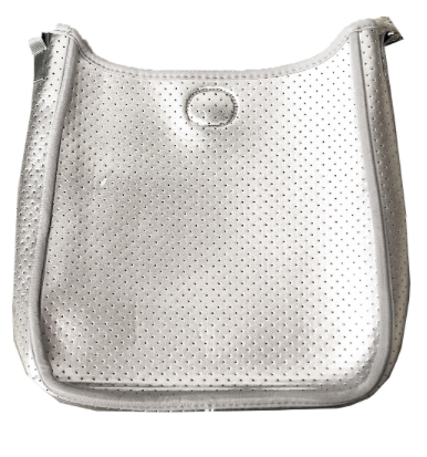AH! Neoprene Crossbody (Without Strap) Silver