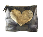 Carter Heart Leather Pouch