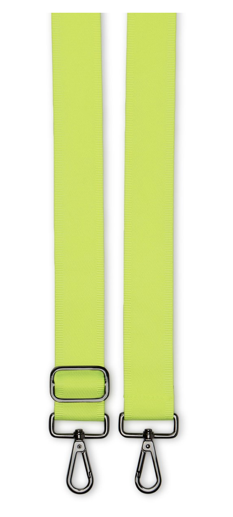 Neon Yellow Guitar Strap