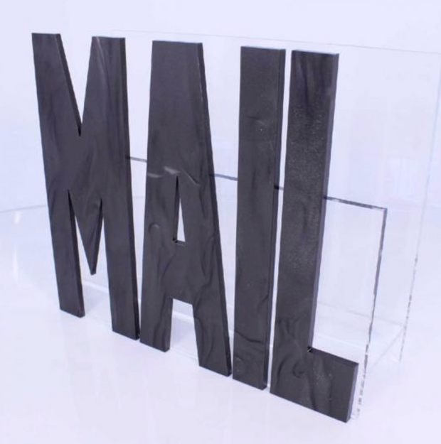 Acrylic Mail Holder