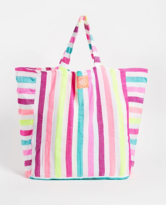 Las Bayadas Colorful Beach Bags