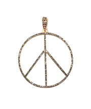 Peace Sign Bale Charm