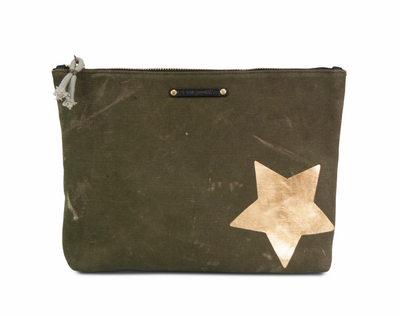 Kempton & Co. Army Gold Star Pouch