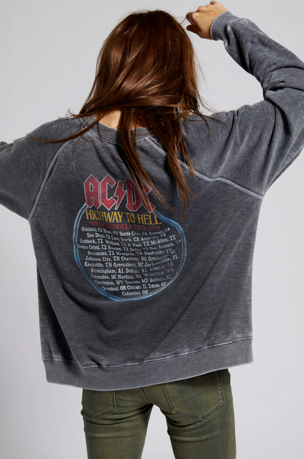 AC/DC Tour 1979 Sweatshirt - Black