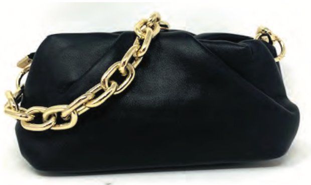 Chain Strap Pouch Bag