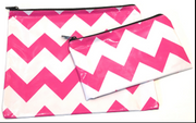 Large Flat Oilcloth Pouch - Customize