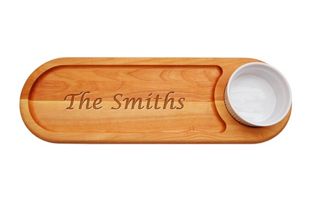 Personalized Wooden Dipping Board