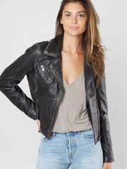 Leather Jacket Vintage Star