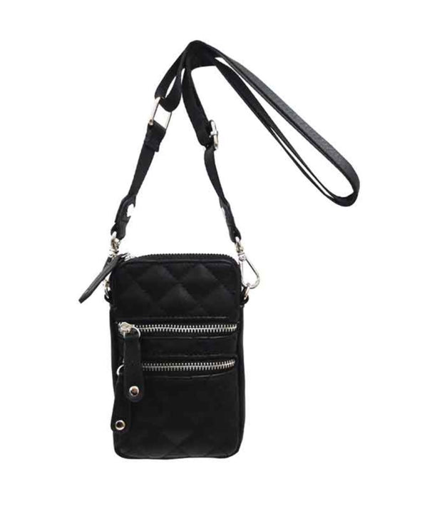 Nylon Cellphone Crossbody