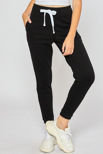 High Rise Fleece Jogger