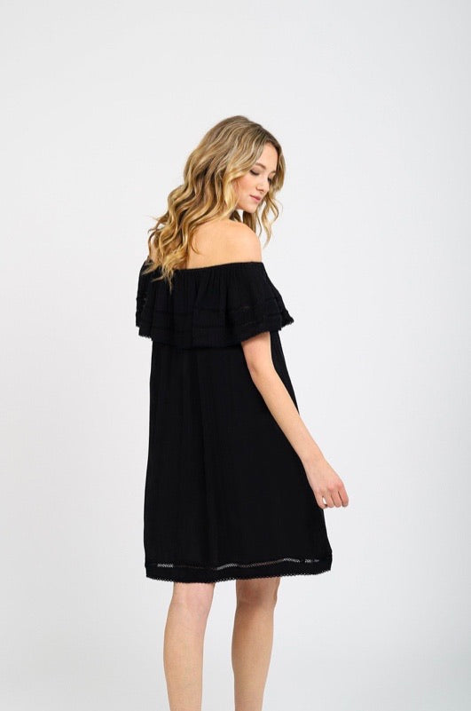 KOY Miami Off Shoulder Dress