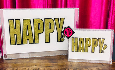 11 x 17 HAPPY! Tray