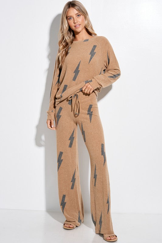 Bolt Loungewear Set
