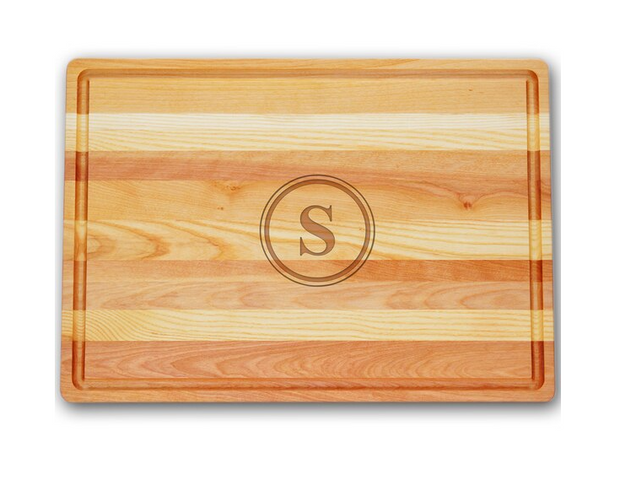 Personalized Large Master Cutting Board
