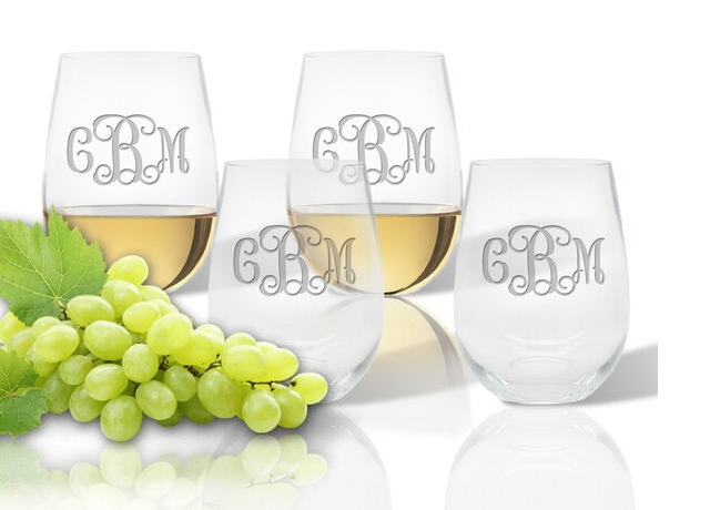 Personalized Stemless Wine Unbreakable