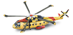 Agusta EH 101 Canadian Search and Rescue Helicopter