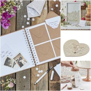 Alternative & Traditional Wedding Guestbooks