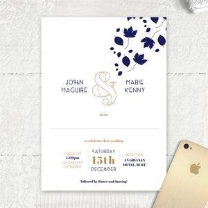 Autumn Leaves - Main Invite