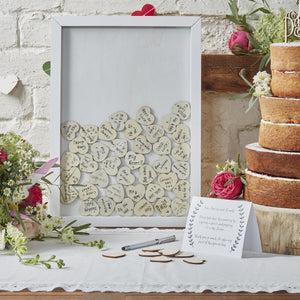 Drop Top Frame Guestbook - Perfect for Weddings