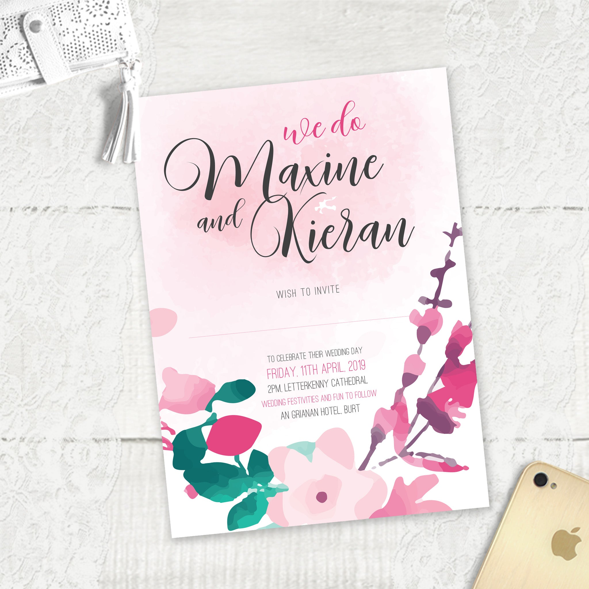 Cherry Blossom 2 - Main Invite