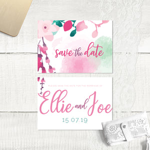 Cherry Blossom - Save the Date