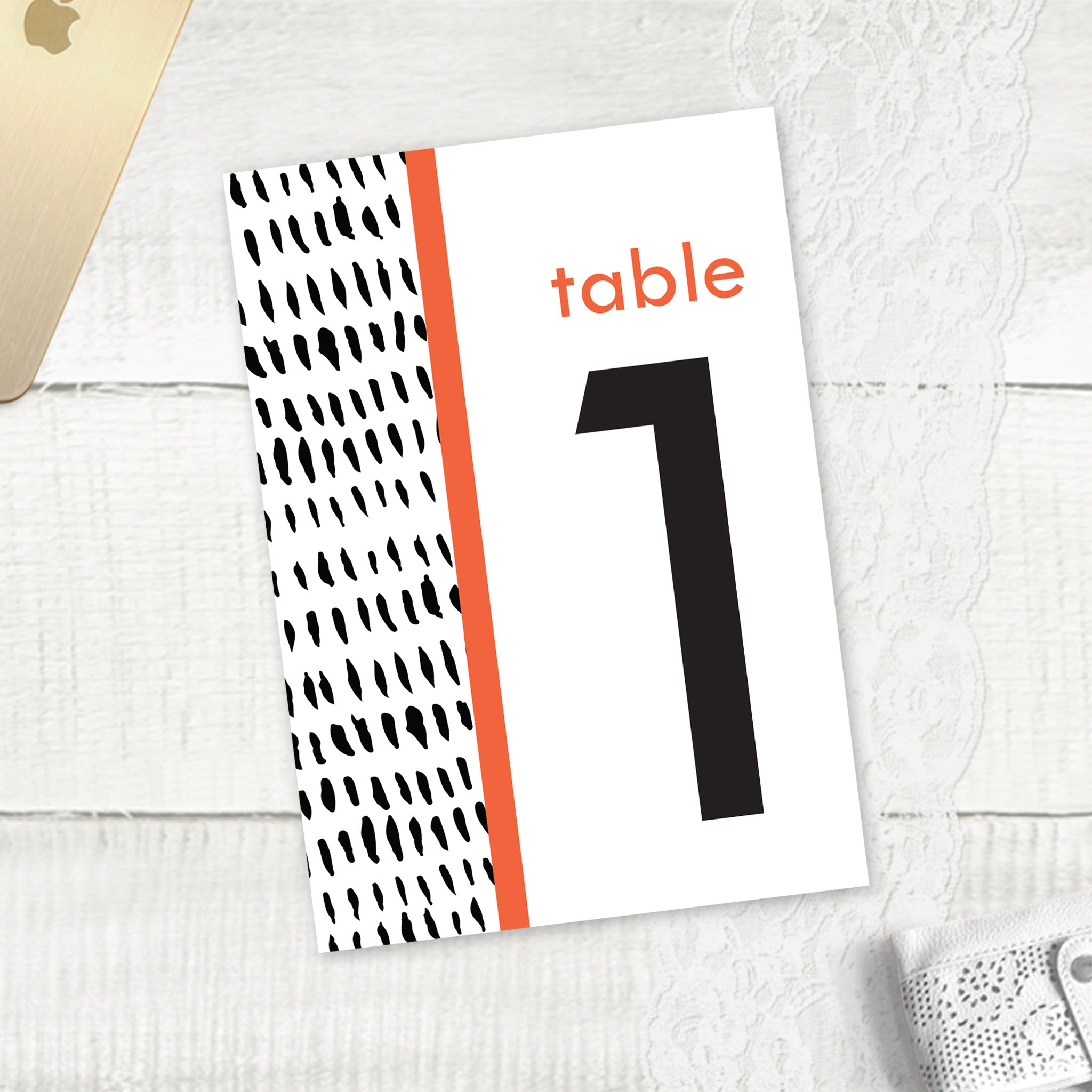 Colour Bridge - Table Numbers