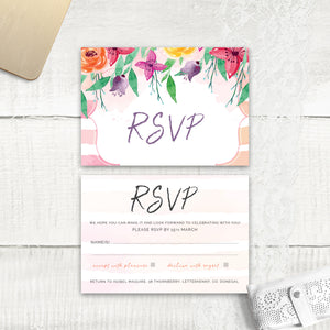 Colour Me Beautiful - RSVP
