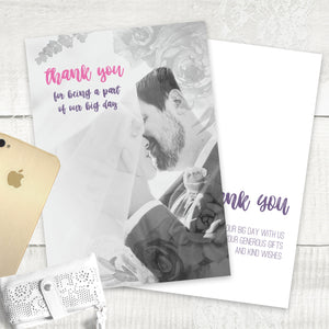 Fab Floral - Thank You Card