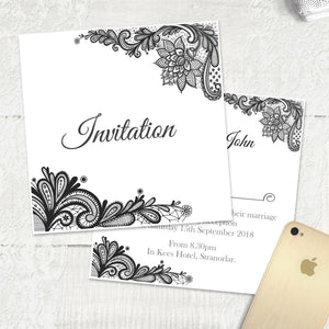 Simple Lace - Main Invite