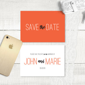Rustic Love - Save the Date