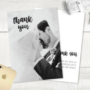 Rustic Love - Thank You Card