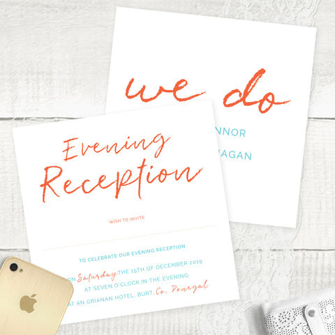 We Do 2 - Evening Invitation