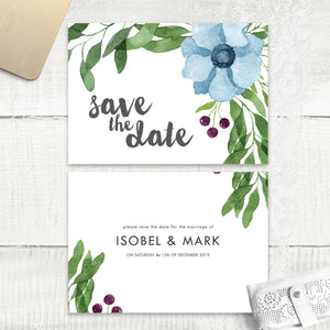 Winter Wedding - Save the Date