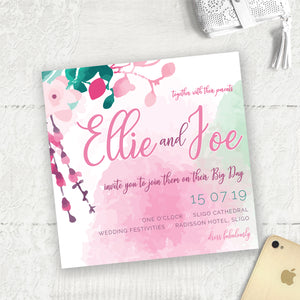 Cherry Blossom - Main Invite