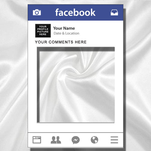 Social Media Frame - Facebook, Instagram, Twitter
