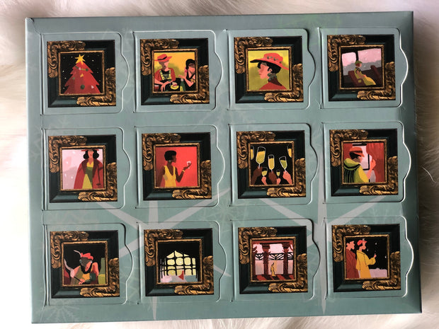 Miss Maude's Bar of Chocolates Advent Calender
