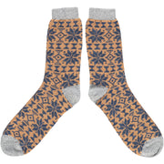 Catherine Tough Men's Lambswool Ankle Socks