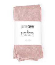 janegee Linen Face Cloth (Set of 2)